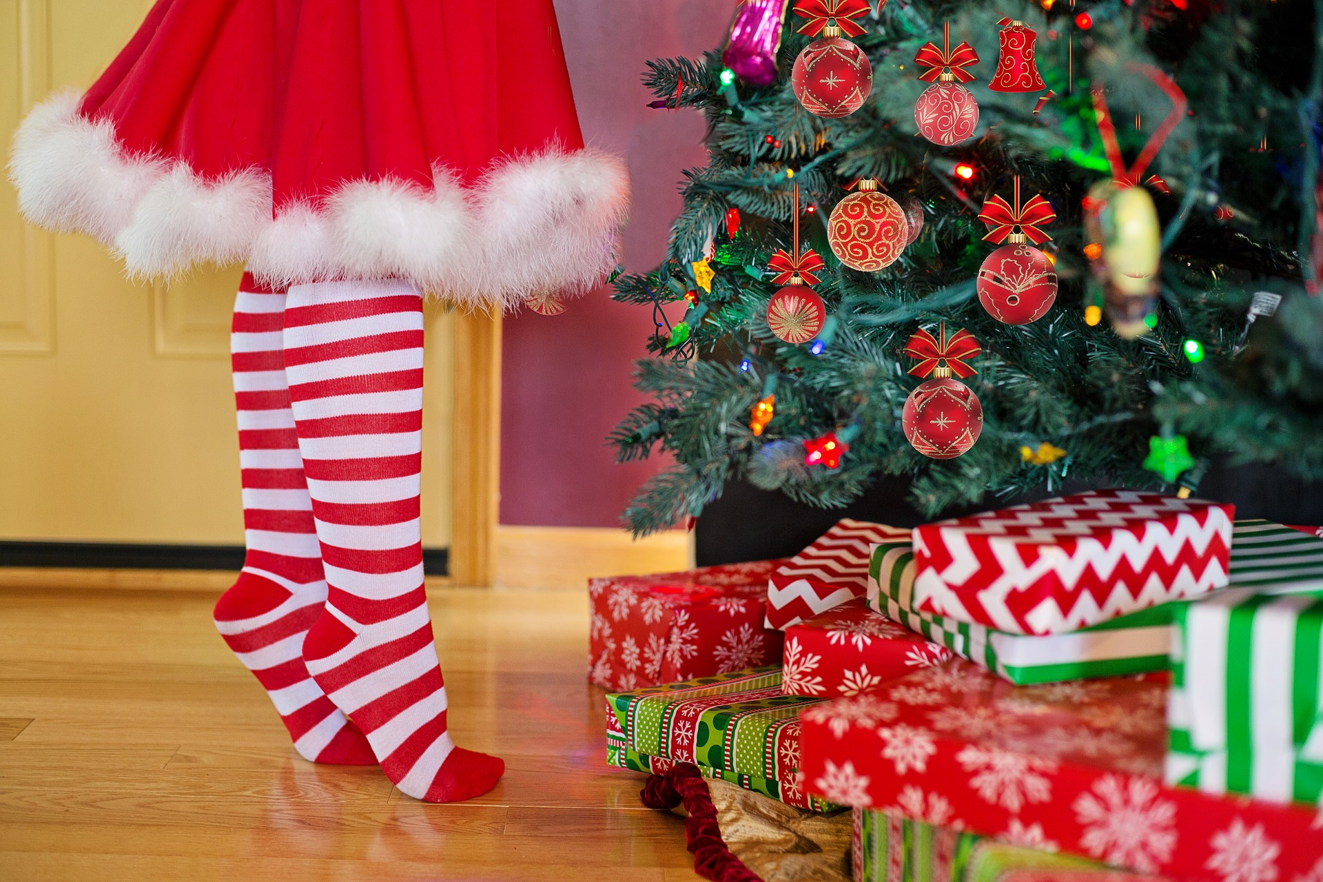 Ponožky nielen na Vianoce